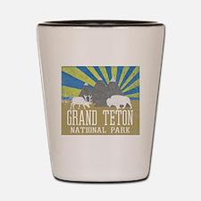 Unique Grand teton Shot Glass