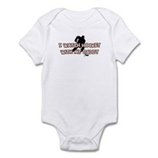 Minnesota Hockey Daddy Infant Bodysuit