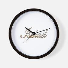 Cute Ismael Wall Clock