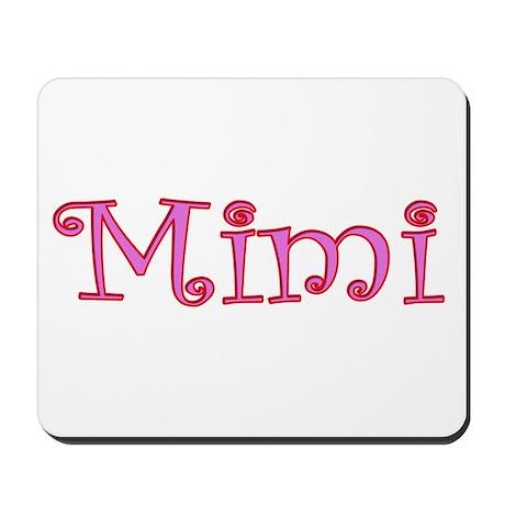 Mimi cutout click to view Mousepad