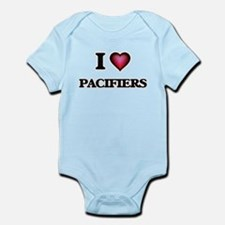I Love Pacifiers Body Suit