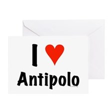 I love Antipolo Greeting Card