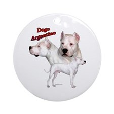 Dogo Trio2 Ornament (Round)
