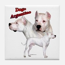Dogo Trio2 Tile Coaster