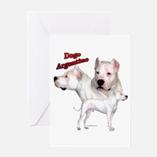 Dogo Trio2 Greeting Card