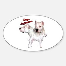 Dogo Trio2 Oval Decal