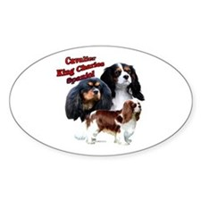 Cavalier Trio2 Oval Decal