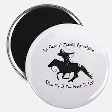 Cute Horseback Magnet