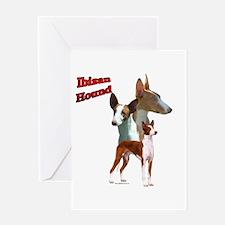 Ibizan Trio2 Greeting Card