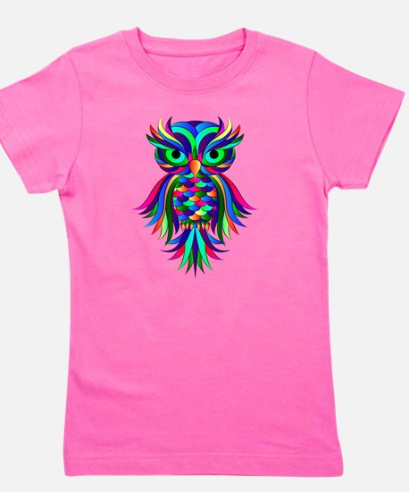 Cute Owl Girl's Tee