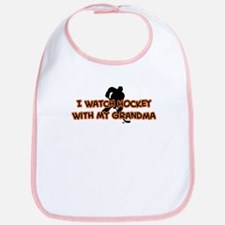 Chicago Hockey Grandma Bib