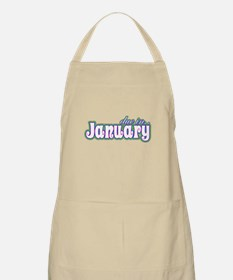 Due In January Rainbow BBQ Apron