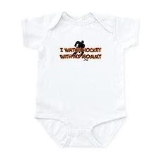 Chicago Hockey Mommy Infant Bodysuit