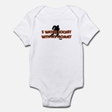 Chicago Hockey Mommy Infant Bodysuit