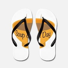 Soup of the Day Bowl Flip Flops