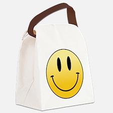 Unique Face Canvas Lunch Bag