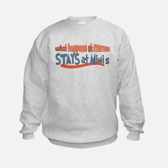 What happens at Mimi's Sweatshirt