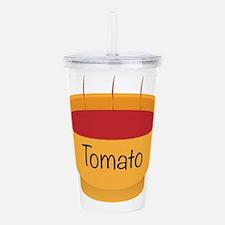 Tomato Soup Bowl Acrylic Double-wall Tumbler