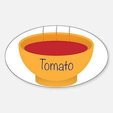 Tomato Soup Bowl Decal