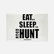 Eat Sleep Duck Hunt Rectangle Magnet