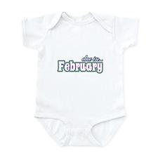 Due In February Rainbow Infant Bodysuit