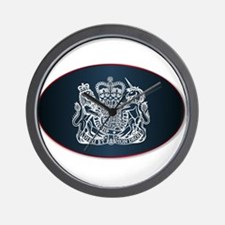Coat of Arms of the United Kingdom Wall Clock