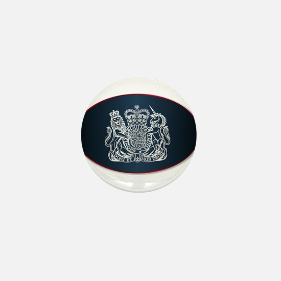 Coat of Arms of the United Kingdom Mini Button