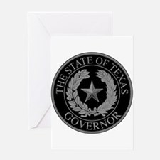 Texas State Governor Seal Greeting Cards