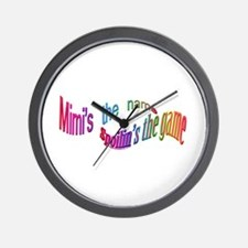 Mimi's the name CLICK TO VIEW Wall Clock