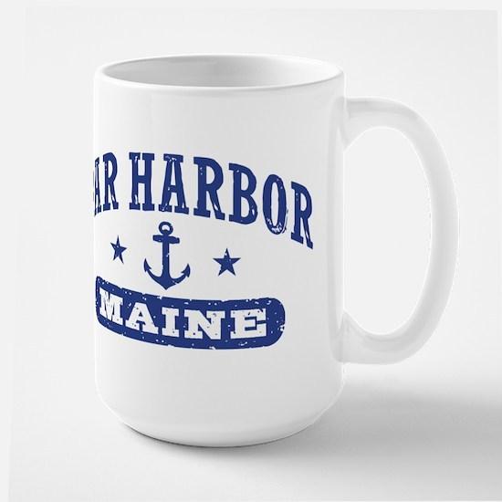 Bar Harbor Maine Large Mug