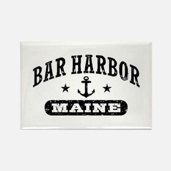 Bar Harbor Maine Rectangle Magnet