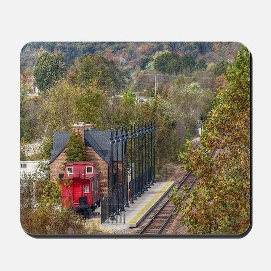 Train Station Mousepad