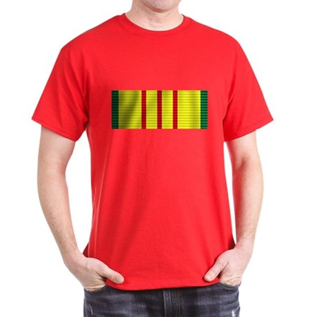 Vietnam Service Ribbon Dark T-Shirt