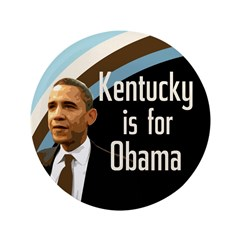 Kentucky for Obama Big Button