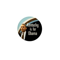 Kentucky for Obama Campaign Pin
