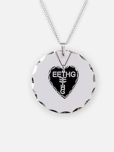Black Heart Eethg Corps Inc Necklace