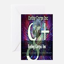 Eethg Galaxy Greeting Cards