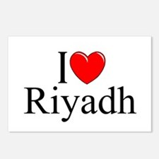 """I Love Riyadh"" Postcards (Package of 8)"