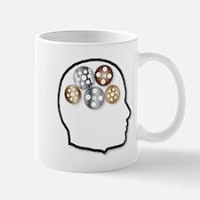 Metal Brain Mugs