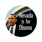 Nevada for Obama Large Button