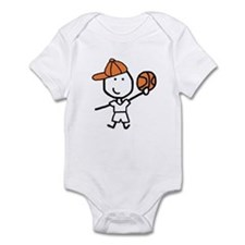 Boy & Basketball Infant Bodysuit