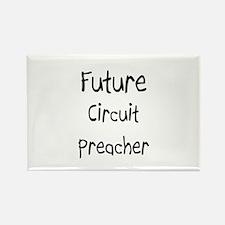 Future Circuit Preacher Rectangle Magnet