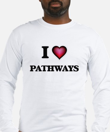 I Love Pathways Long Sleeve T-Shirt