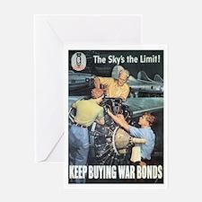 Keep Buying War Bonds Greeting Card