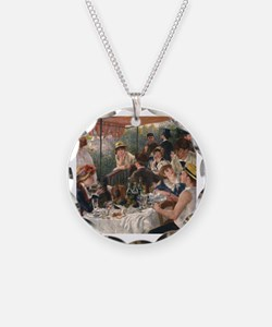 Unique Renoir luncheon of boating party Necklace