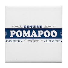 POMAPOO Tile Coaster