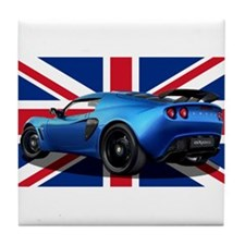 Blue Exige UK Tile Coaster