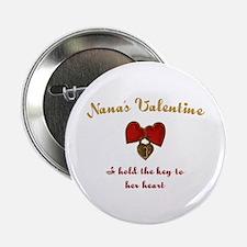 """Nana's Valentine 2.25"""" Button"""