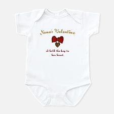 Nana's Valentine Infant Bodysuit