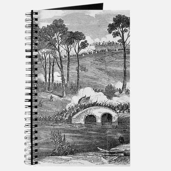 Battle of Antietam 1862 Journal